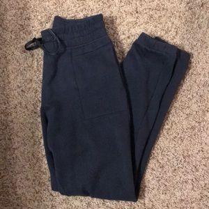 Lululemon Navy Jogger Sweatpants